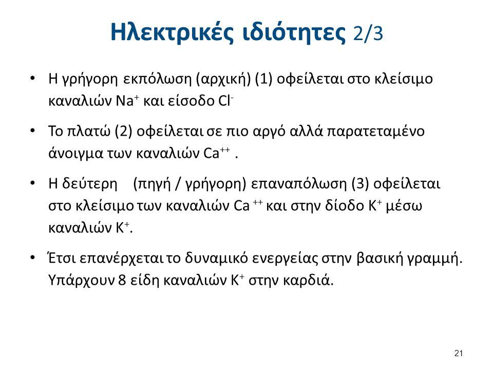 Ηλεκτρικές ιδιότητες 3/3