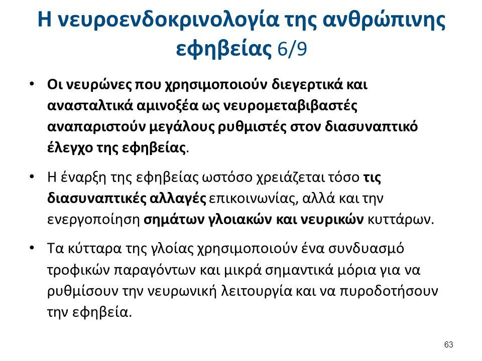 Η νευροενδοκρινολογία της ανθρώπινης εφηβείας 7/9