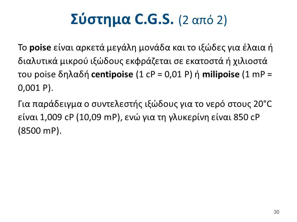 Σύστημα SI (1 από 2)