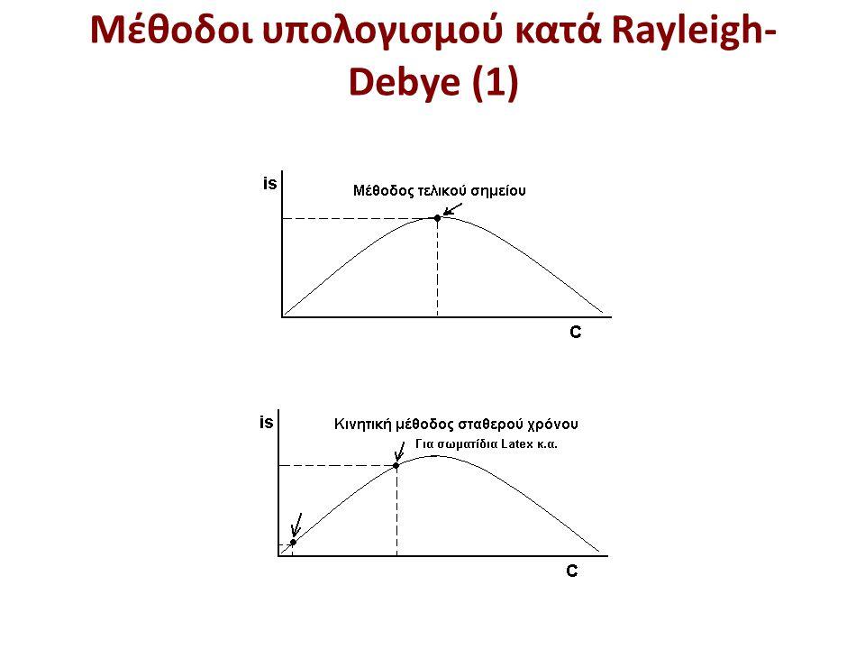 Μέθοδοι υπολογισμού κατά Rayleigh-Debye (2)