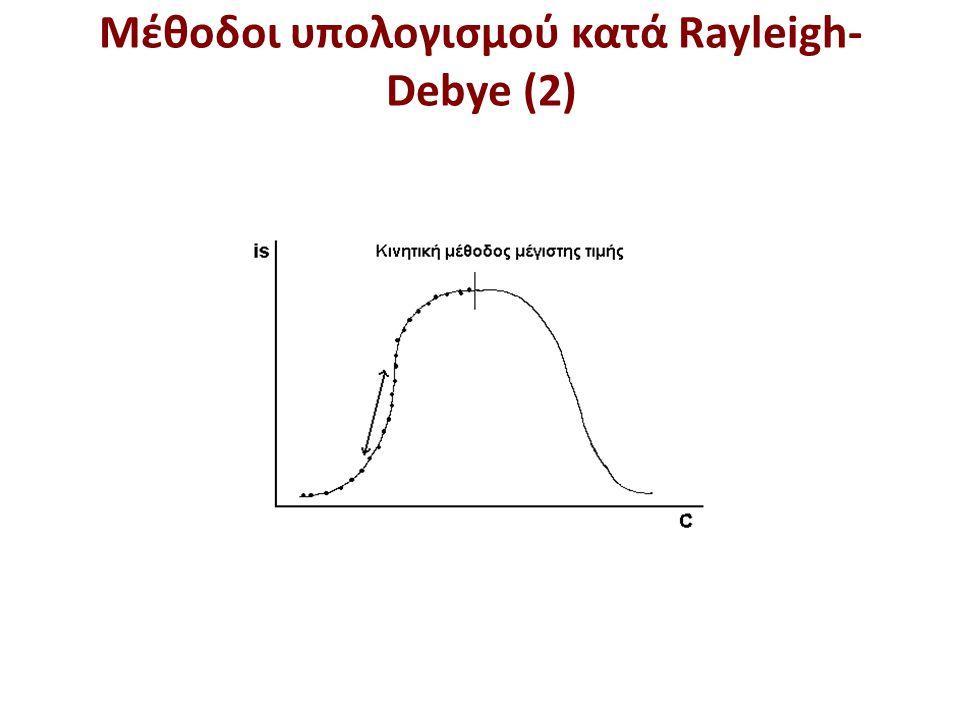 Καμπύλη μέτρησης Rayleigh
