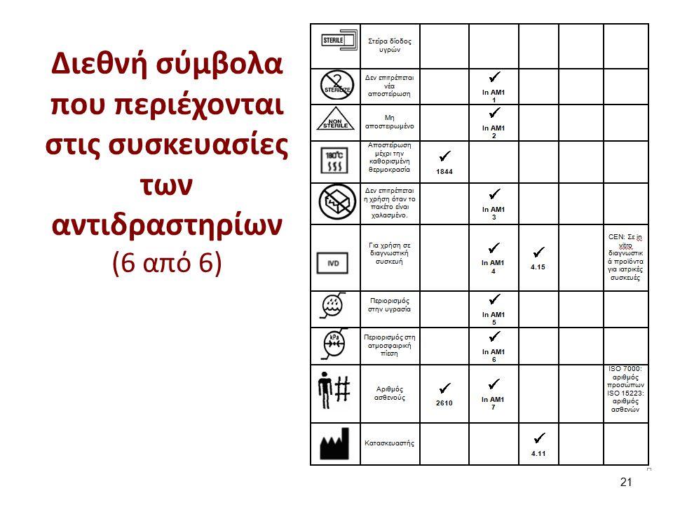 Φυλλάδιο Κάθε Kit σύμφωνα με την 98/79 EC θα πρέπει να περιέχει εσώκλειστο φυλλάδιο.