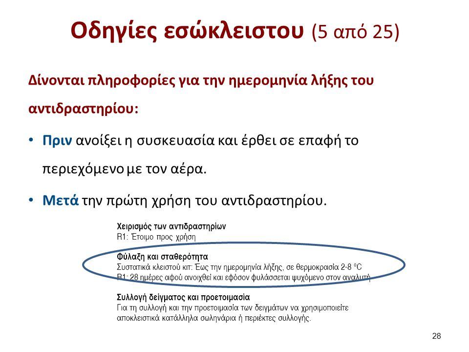 Οδηγίες εσώκλειστου (6 από 25)