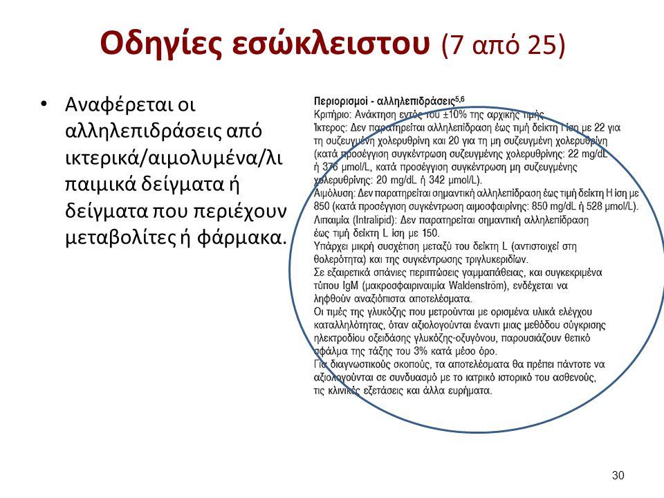 Οδηγίες εσώκλειστου (8 από 25)