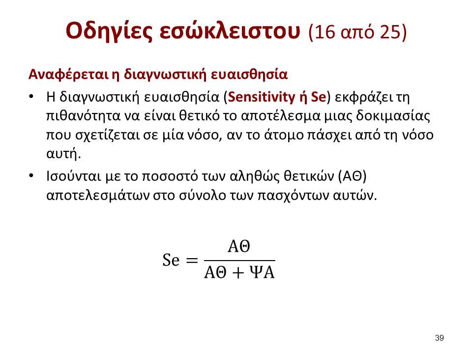 Οδηγίες εσώκλειστου (17 από 25)