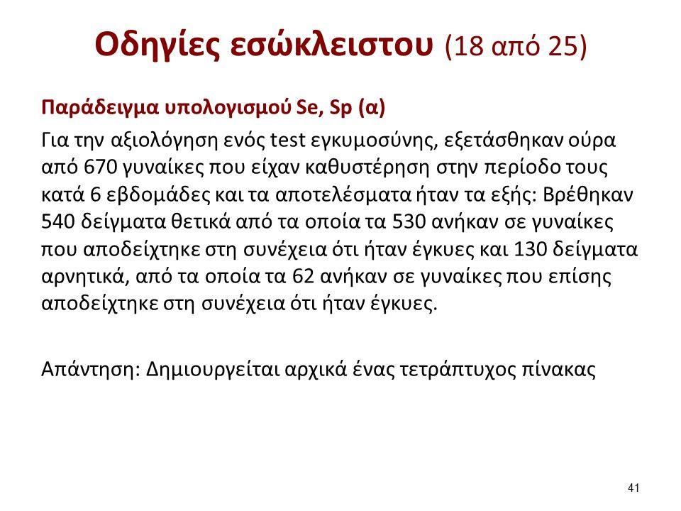 Οδηγίες εσώκλειστου (19 από 25)