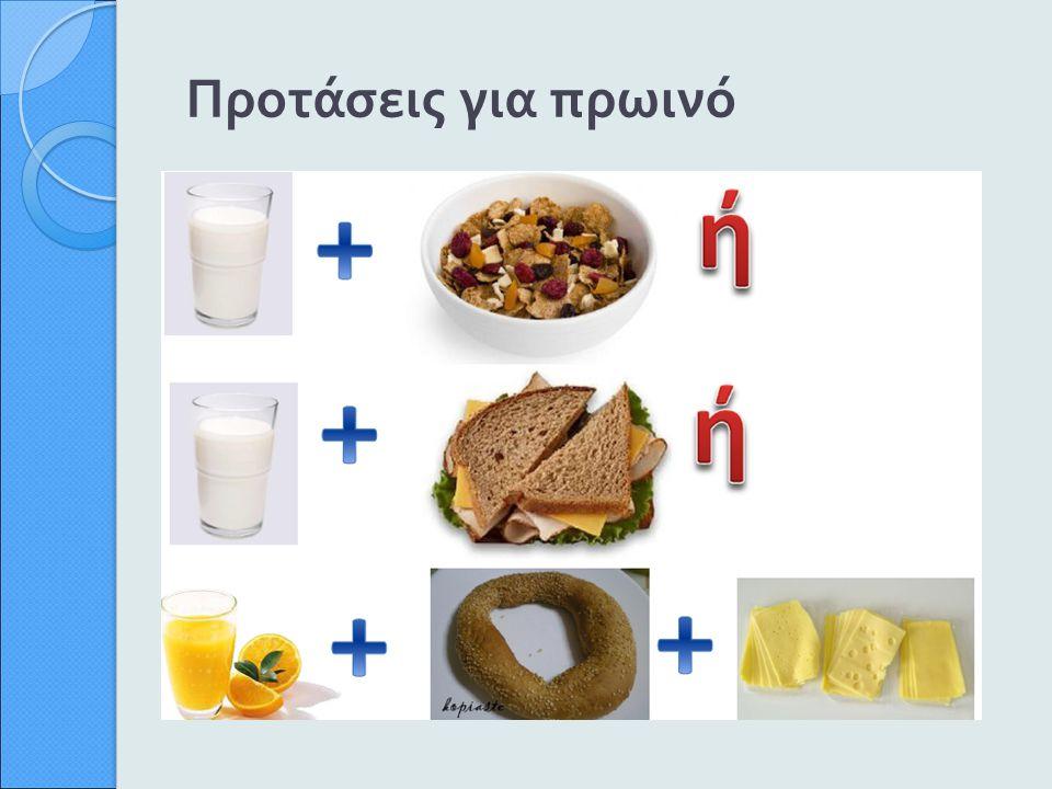 Προτάσεις για πρωινό