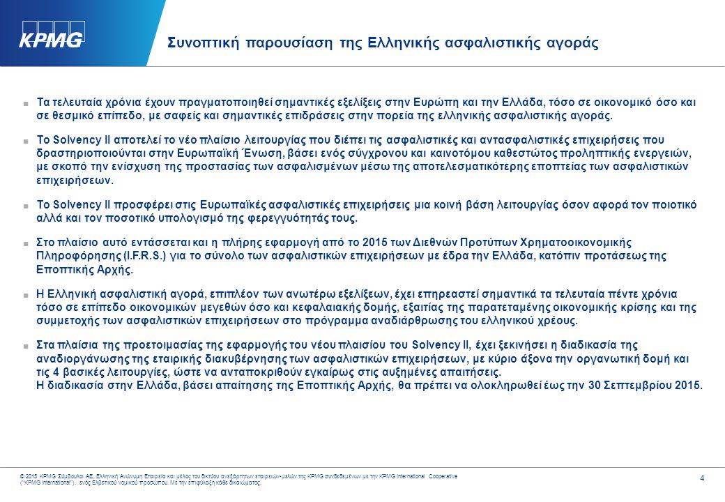 Παρουσίαση κλάδου: Ασφαλιστικές Επιχειρήσεις 2008 – 2013