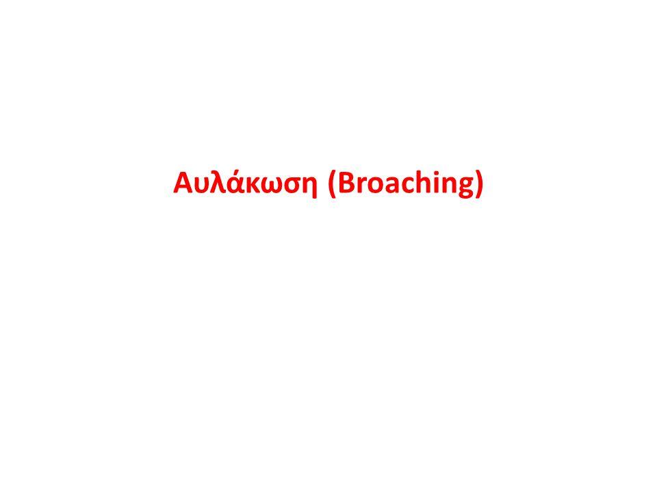 Αυλάκωση (Broaching)