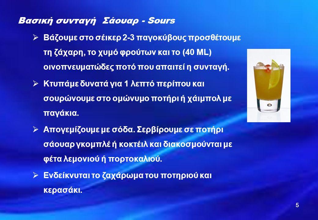 Βασική συνταγή Σάουαρ - Sours