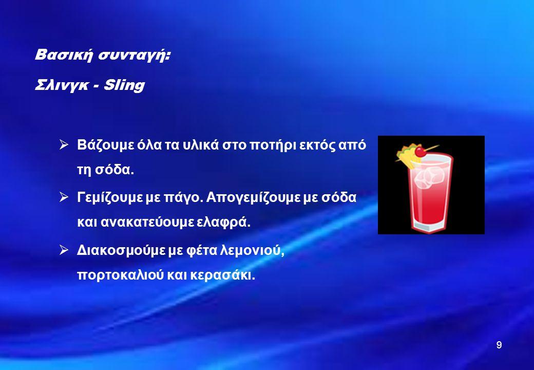 Βασική συνταγή: Σλινγκ - Sling