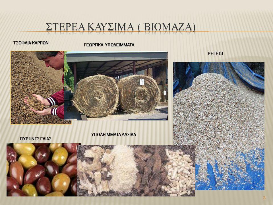 ΣΤΕΡΕΑ ΚΑΥΣΙΜΑ ( ΒΙΟΜΑΖΑ)
