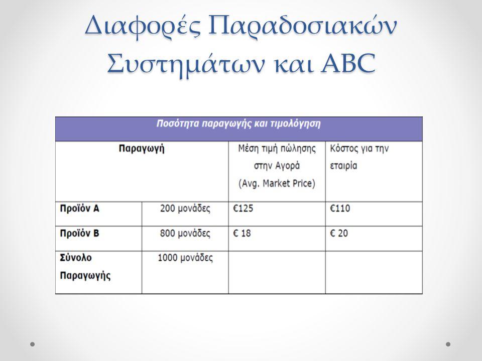 Διαφορές Παραδοσιακών Συστημάτων και ABC