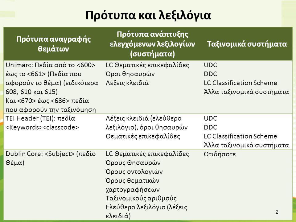 Unimarc 001: GR-AtTEI43655 008: 080123s gr gr 00010 gre d