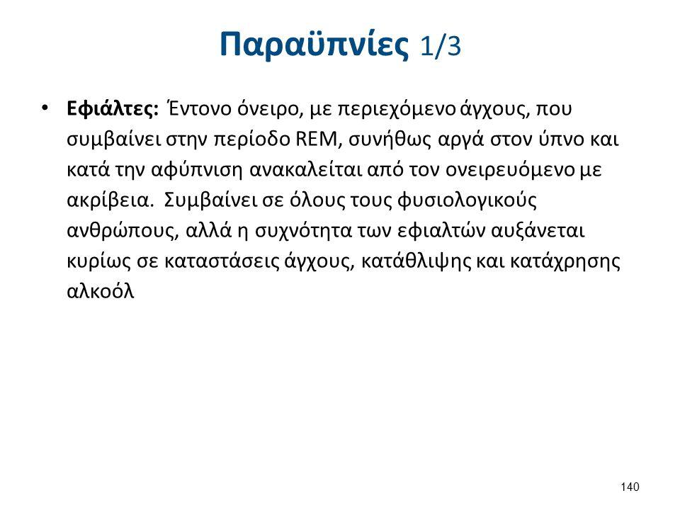 Παραϋπνίες 2/3