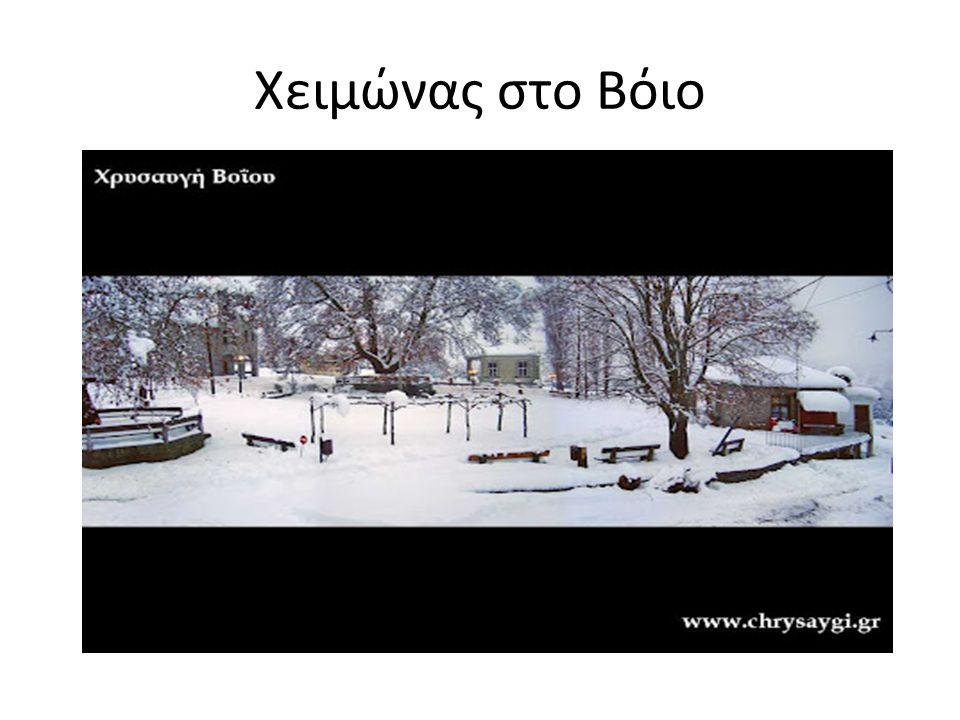 Χειμώνας στο Βόιο