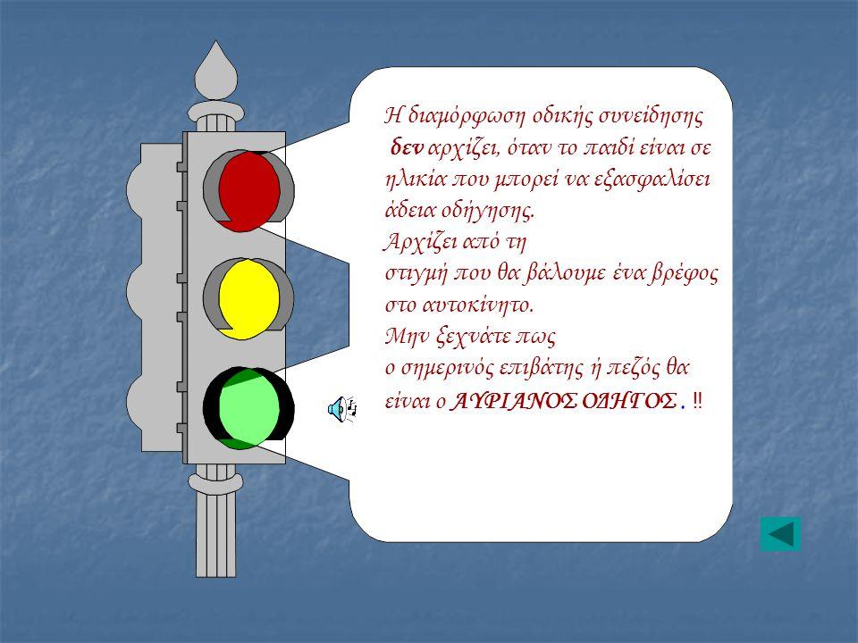 Η διαμόρφωση οδικής συνείδησης