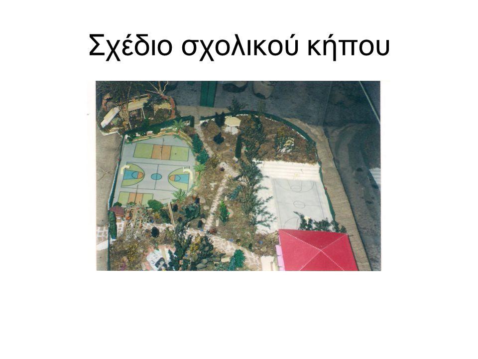 Σχέδιο σχολικού κήπου