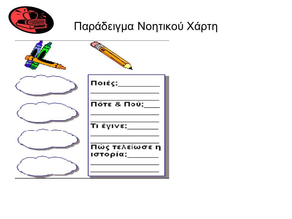 Παράδειγμα Νοητικού Χάρτη