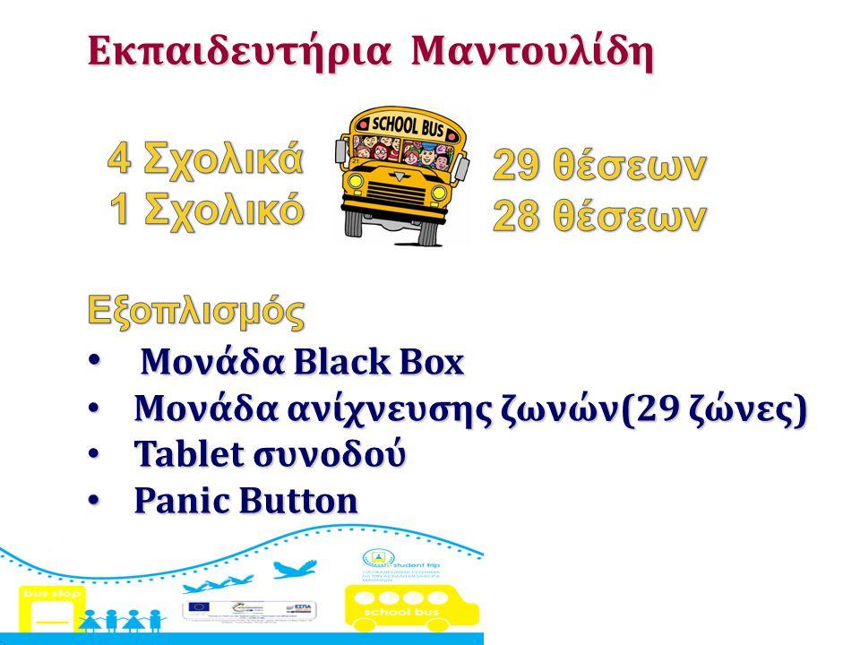 4 Σχολικά 1 Σχολικό 29 θέσεων 28 θέσεων