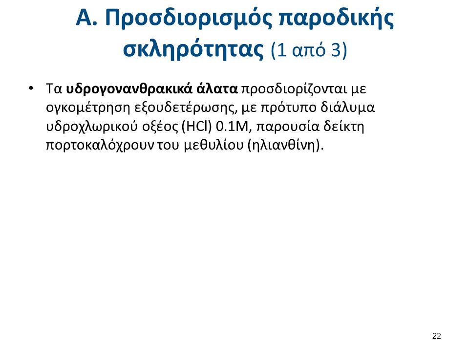 Α. Προσδιορισμός παροδικής σκληρότητας (2 από 3)