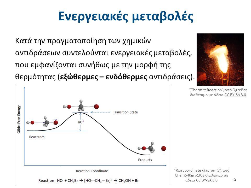 Χημική εξίσωση Κάθε χημική αντίδραση συμβολίζεται με μια χημική εξίσωση της μορφής : Αντιδρώντα → Προϊόντα