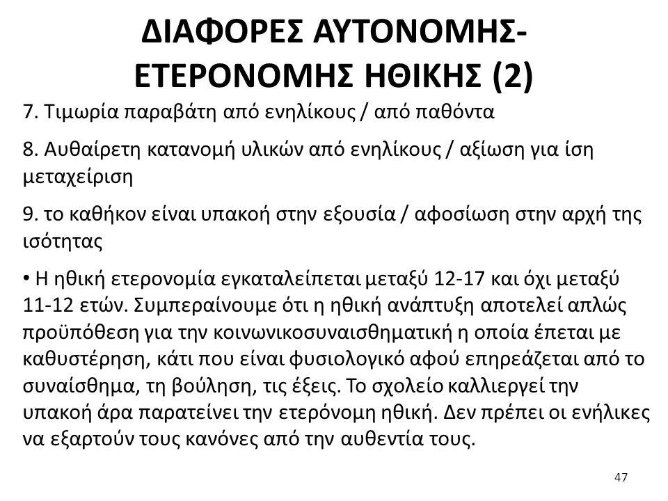 ΔΙΑΦΟΡΕΣ ΑΥΤΟΝΟΜΗΣ-ΕΤΕΡΟΝΟΜΗΣ ΗΘΙΚΗΣ (2)