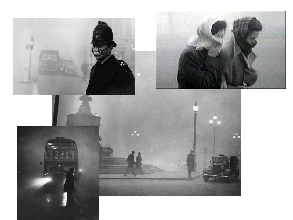 The London Smog 1952