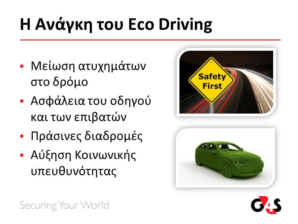 Η Ανάγκη του Eco Driving