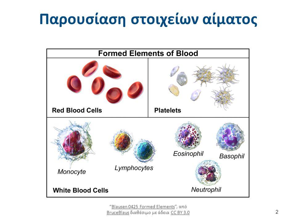 Sedimented red blood cells , από MDougM διαθέσιμο ως κοινό κτήμα
