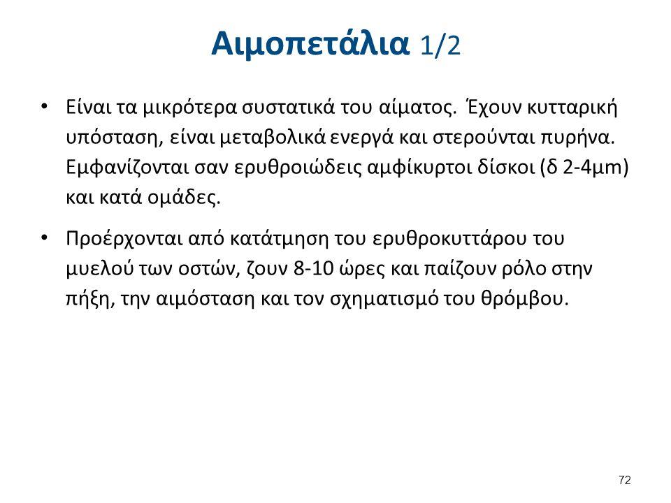 Αιμοπετάλια 2/2