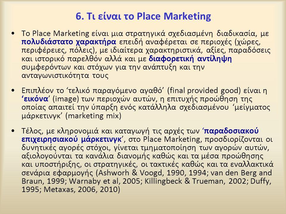 6. Τι είναι το Place Marketing
