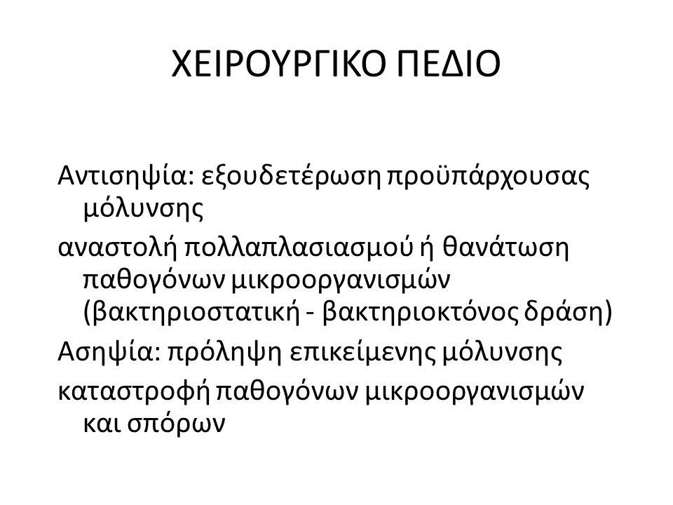 ΧΕΙΡΟΥΡΓΙΚΟ ΠΕΔΙΟ