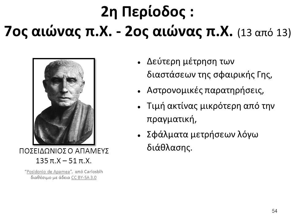 3η Περίοδος : 2ο αιώνας π.Χ. - 9ος αιώνας μ.Χ.