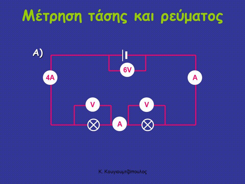 Μέτρηση τάσης και ρεύματος