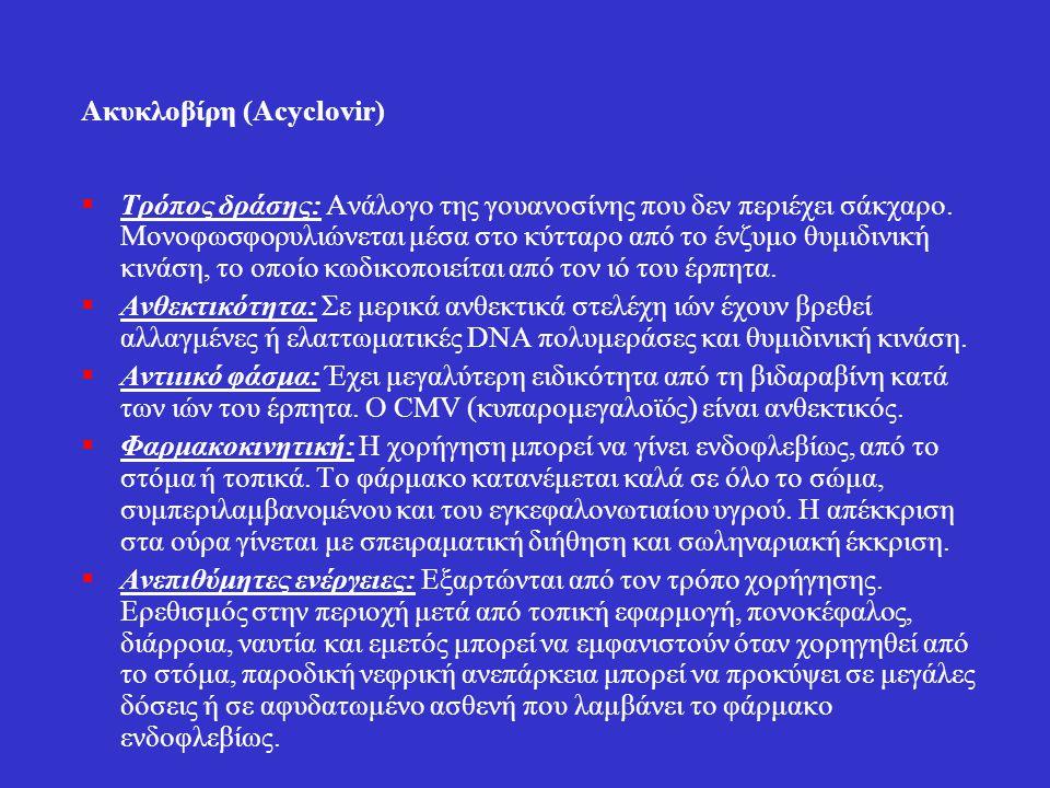 Ακυκλοβίρη (Acyclovir)