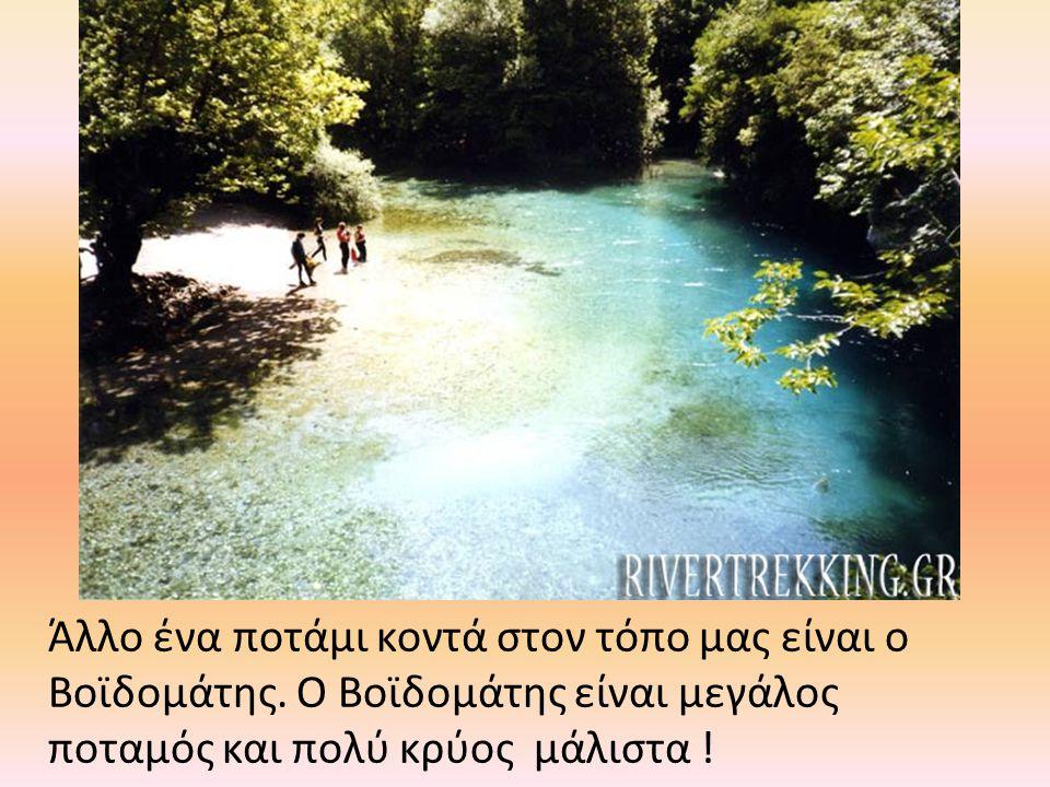 Άλλο ένα ποτάμι κοντά στον τόπο μας είναι ο Βοϊδομάτης