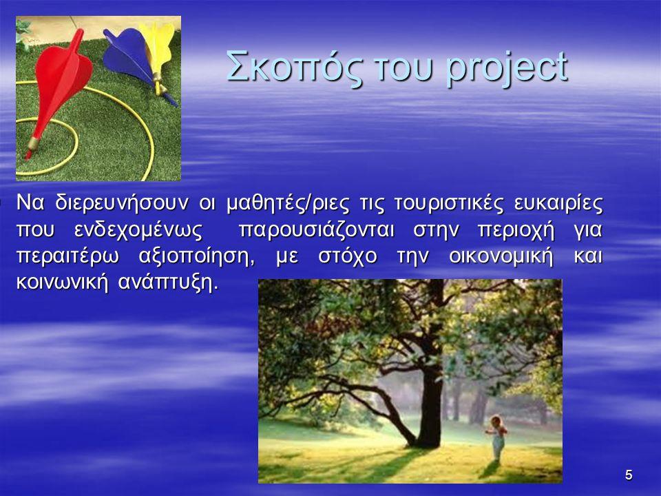 Σκοπός του project