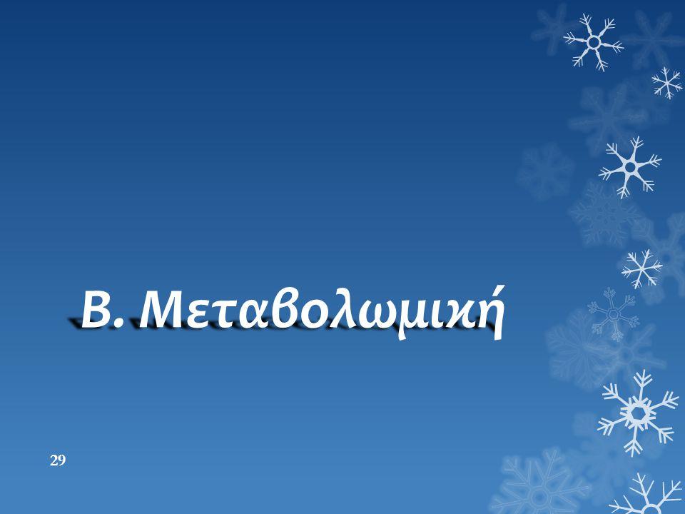 Β. Μεταβολωμική