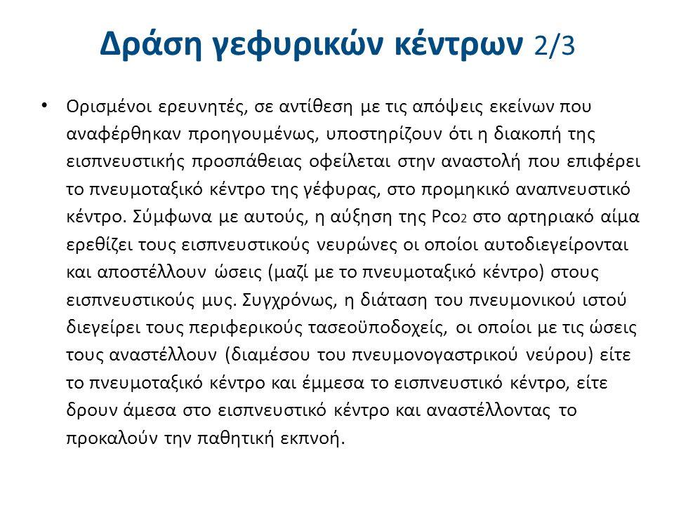 Δράση γεφυρικών κέντρων 3/3