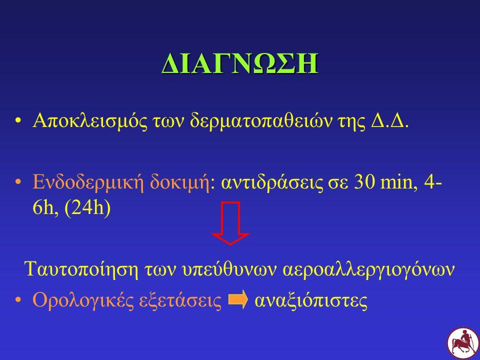 Ταυτοποίηση των υπεύθυνων αεροαλλεργιογόνων
