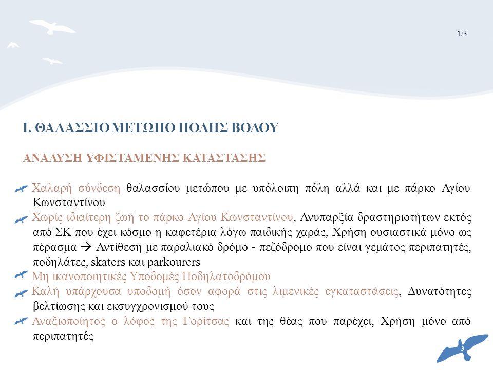 I. ΘΑΛΑΣΣΙΟ ΜΕΤΩΠΟ ΠΟΛΗΣ ΒΟΛΟΥ
