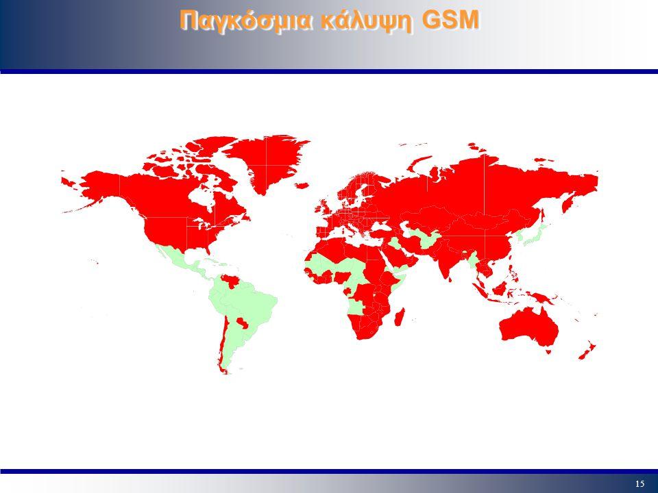 Παγκόσμια κάλυψη GSM