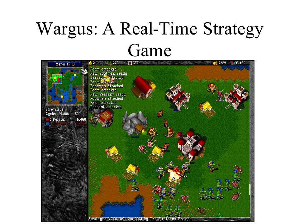 Wargus: A Real-Time Strategy Game