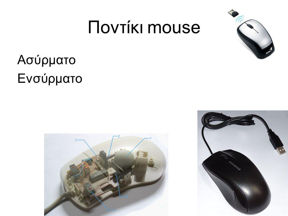 Ποντίκι mouse Ασύρματο Ενσύρματο