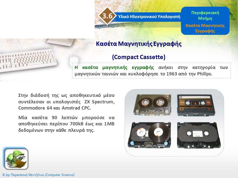 Κασέτα Μαγνητικής Εγγραφής (Compact Cassette)