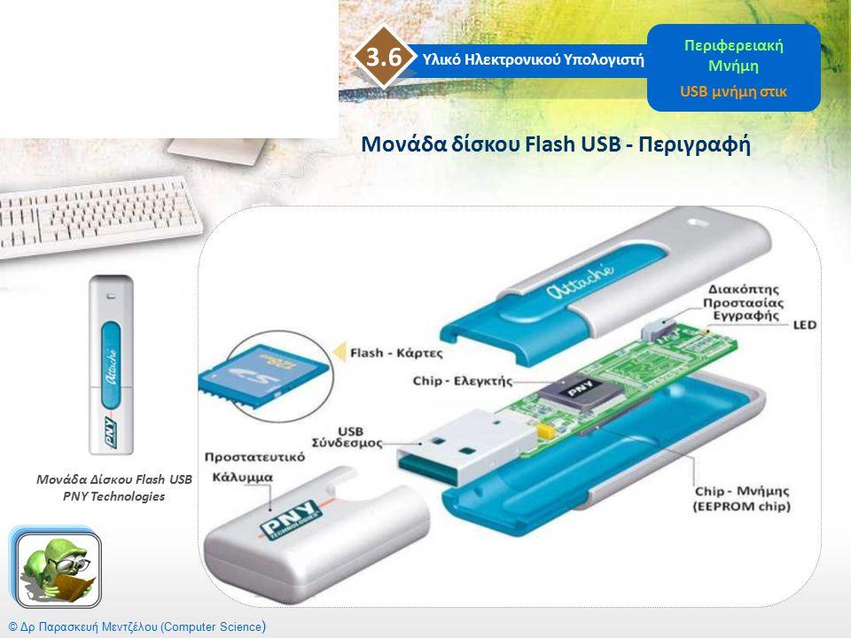 3.6 Μονάδα δίσκου Flash USB - Περιγραφή Περιφερειακή Μνήμη