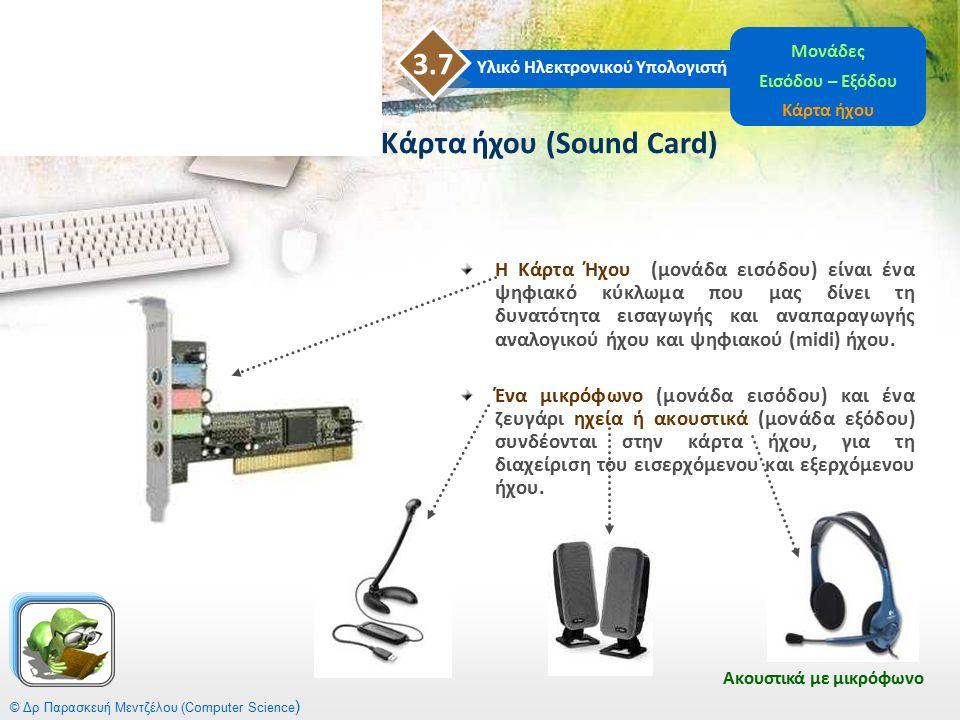 Κάρτα ήχου (Sound Card)