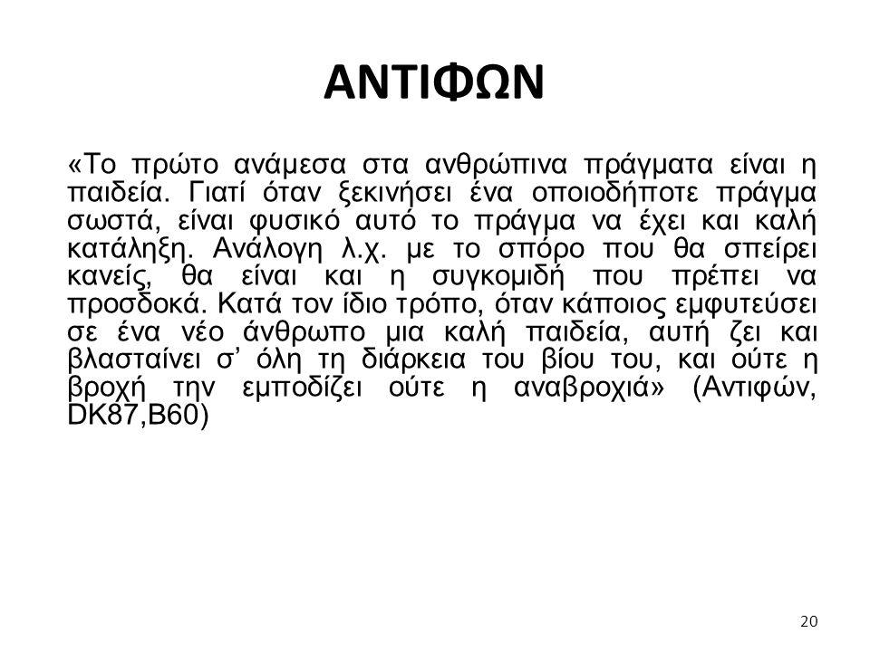 ΑΝΤΙΦΩΝ