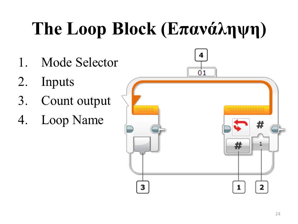 The Loop Block (Επανάληψη)
